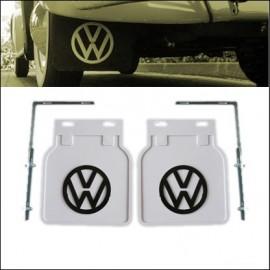 paraspruzzi bianco con logo VW nero