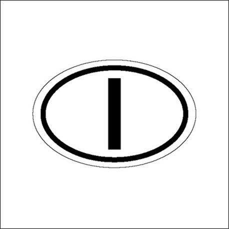 """targa """"I"""" (disponibili anche altre nazioni)"""