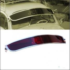 visiera parasole in plexiglass per parabrezza Rosso
