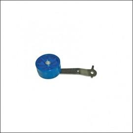 pedale acceleratore a rotella blu