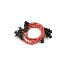 cavi candele silicone 8 mm. rossi