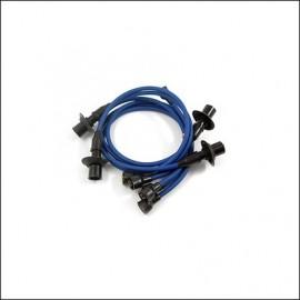 cavi candele silicone 8 mm. blu
