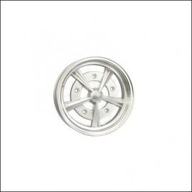 cerchio radar 5x15 5 fori argento