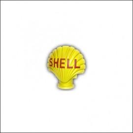 """Insegna """"SHELL"""", resina sintetica, altezza: 36 cm"""