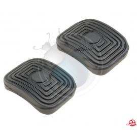 gomme pedali frizione-freno (2 pezzi) 8/55 in poi