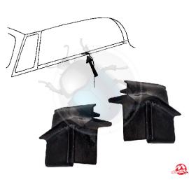guarnizione dietro finestrino anteriore 65 - 79 (kit)