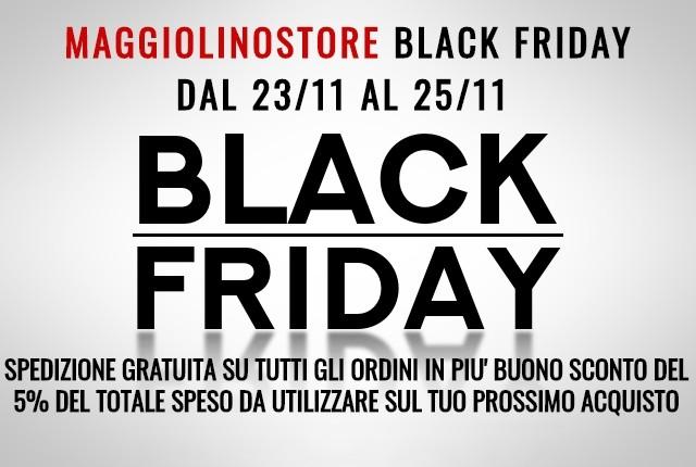 MAGGIOLINO STORE BLACK FRIDAY